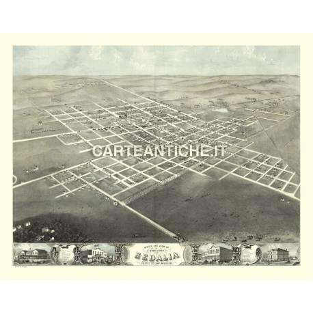 Veduta antica: USA - Sedalia, Missouri - Ruger 1869