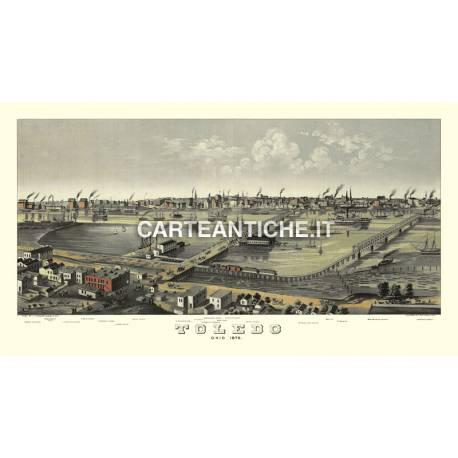 Veduta antica: USA - Toledo, Ohio - Ruger 1876