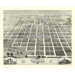 Veduta antica: USA - Urbana, Illinois - Ruger 1869