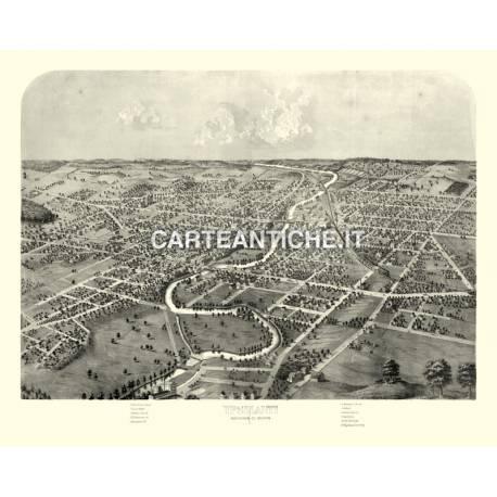 Veduta antica: USA - Ypsilanti, Michigan - Ruger 1869