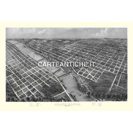 Veduta antica: USA - Gran Rapids, Michigan - Ruger 1868