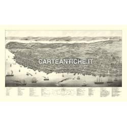 Veduta antica: USA - Halifax, Nova Scotia - Ruger 1879