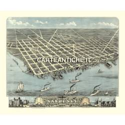 Veduta antica: USA - Sandusky, Ohio - Ruger 1870