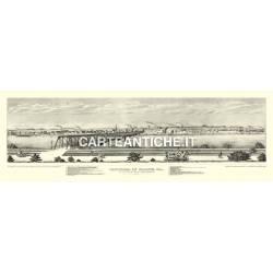 Veduta antica: USA - Moline, Iowa - Hageboeck 1873