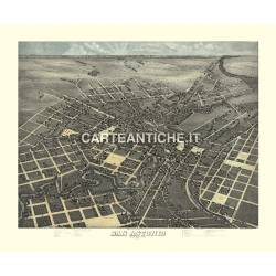 Veduta antica: USA - San Antonio - Koch 1873