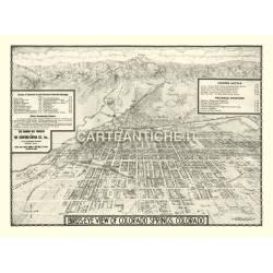 Veduta antica: USA - Colorado Springs 1909