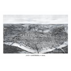 Veduta antica: USA - Cincinnati 1900.